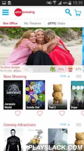 AMC Theatres  Android App - playslack.com ,  Since 1920, AMC has been the amazing place where movies want to play. Now, we're bringing movie magic to your fingertips with the AMC Theatres app for Google Play. It's the newest, most amazing way to find the closest theatre, get showtimes, buy tickets and browse exclusive content!If you're an AMC Stubs member, then the app has extra perks for you. Use your phone as your AMC Stubs card, check your rewards balance, share your stubs on Facebook and…
