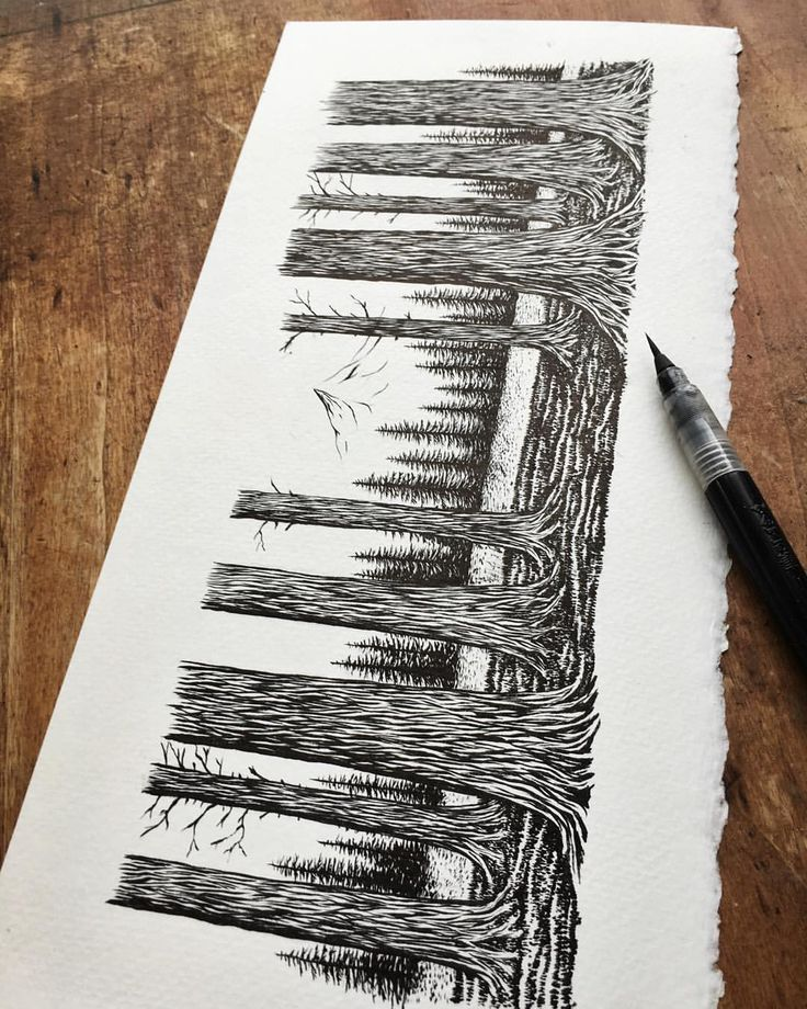 #trees #illustration #art