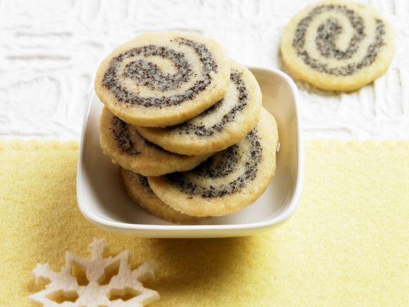Mohnplätzchen ist ein Rezept mit frischen Zutaten aus der Kategorie Mohnkuchen. Probieren Sie dieses und weitere Rezepte von EAT SMARTER!