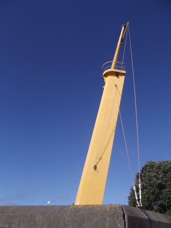 Wahine Fore Mast Frank Kitts Park