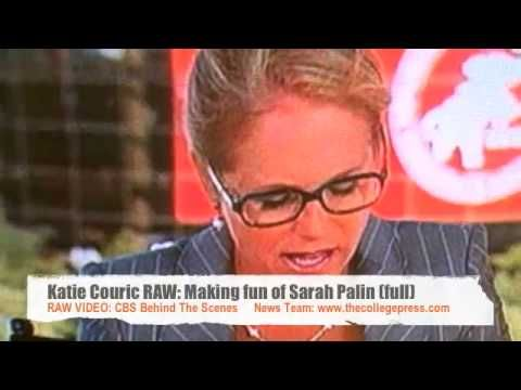 Katie Couric mocks Sarah Palin and her family as part of her LIBERAL AGE...