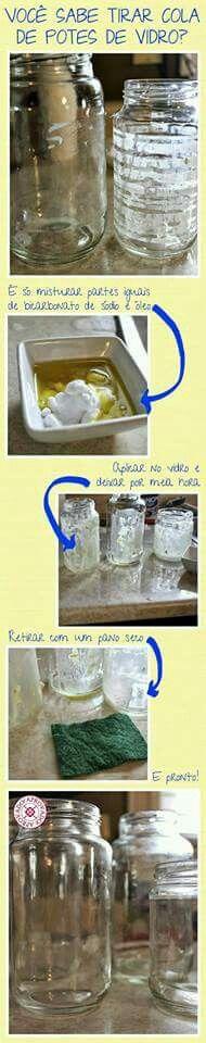 Tirar cola do vidro                                                                                                                                                                                 Mais