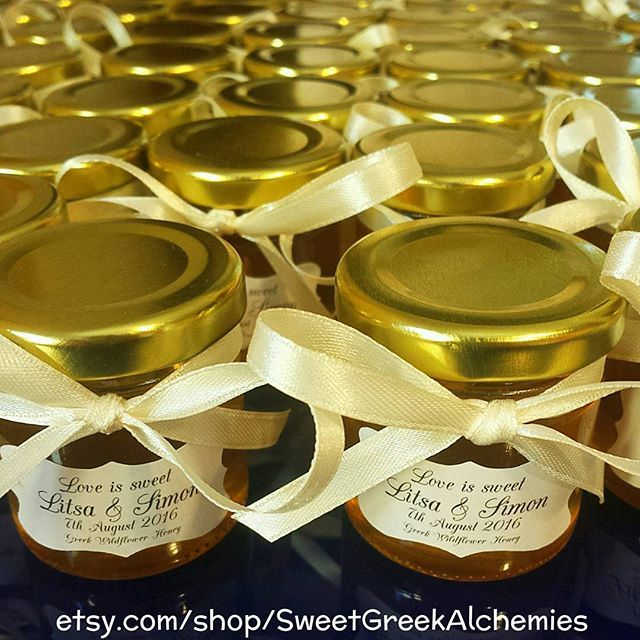 Ready to ship! Handmade Honey favors by @SweetGreekAlchemies  Find us on:  Etsy: etsy.com/shop/SweetGreekAlchemies  #organic #organicfood #organichoney #healthy #vegan #vegetarian #natural #healthyfood #delicious #delish #healthylife #instafood #bestofvegan #organics #honey #handmade #favors #wedding #weddingshower #bride #weddingfav #honeyfavors #bridalshower #babyshower #meanttobe #weddingfavors #weddingdecor #bridalparty #babyfavors #bridalguide