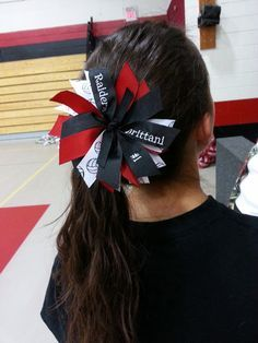 volleyball team hair bows - Google Search