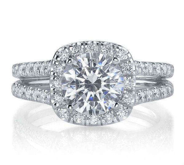 Diamond Exchange Dallas has this split shank round diamond engagement ring available.  Diamond Exchange Dallas has a very large selection of wholesale engagement rings and loose diamonds to choose from.  We offer the best prices on diamond jewelry in Dallas, TX.  Find out more about us at http://diamondexchangedallas.com