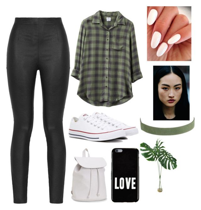 """""""#528"""" by aledelpilarpatino on Polyvore featuring moda, RVCA, Armani Jeans, Converse, Aéropostale y Givenchy"""