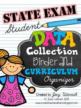STATE EXAM Student Data Collection Binder and Curriculum O
