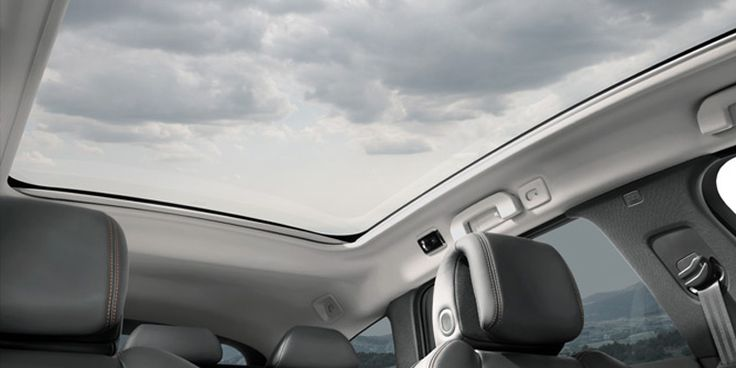 Panoramic Glass Roog of the #Peugeot508RXH