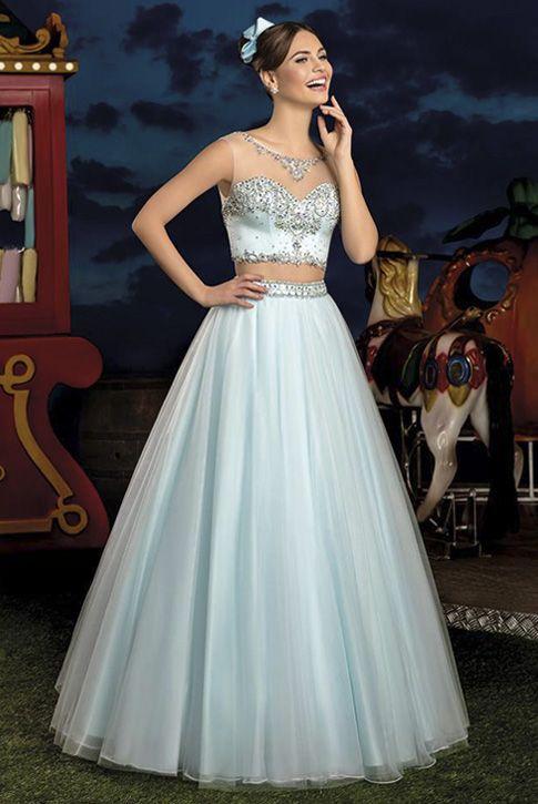 942b4213c Vestido 15 anos Cotton Candy 14 Center Debutantes Azul Tiffany ou Serenity  2 em 1 /
