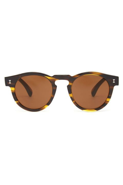 This pair of Illesteva Leonard sunglasses is definitely worth investing in. Unless you're prone to losing sunglasses, make them a basic you invest in. You'll notice the difference between a handmade pair and not the moment you take the former out of its case. Illesteva Leonard Sunglasses, $211; matchesfashion.com