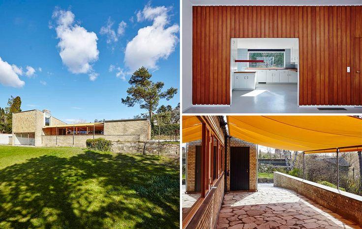 Civilingeniør Jørgen Varmings private bolig i Gentofte blev fredet i 2005 og står i dag som et unikt stykke arkitekturhistorie og et studie i usædvanlig, banebrydende ingeniørkunst.