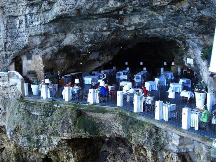 Grotta Palazzese – dineren in een Italiaanse grot