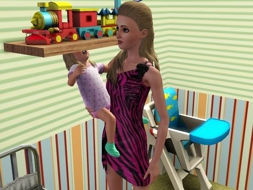 When your Sim was just a bad parent.   The 29 Weirdest Things Ever To Happen When Playing TheSims