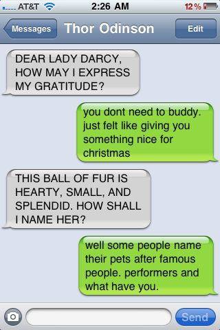 Avengers Texts- Christmas part 3