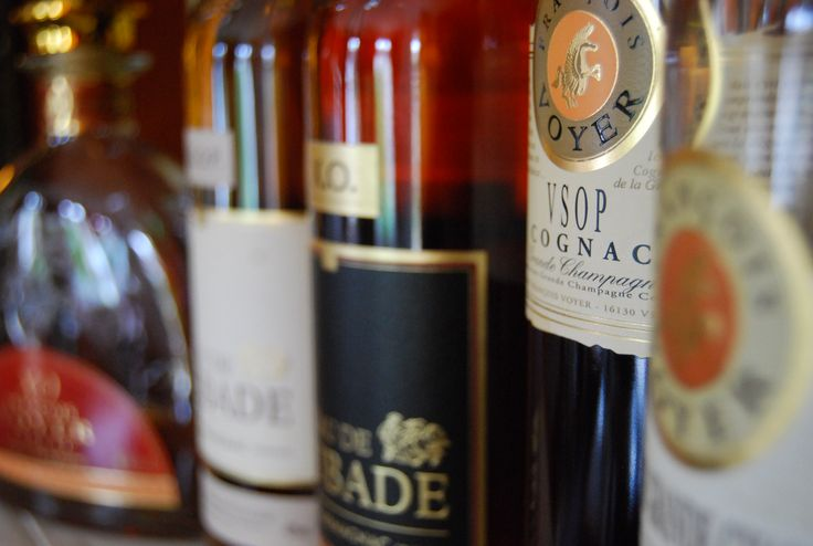 Cognacs & Armagnacs - Restaurant Eléonore