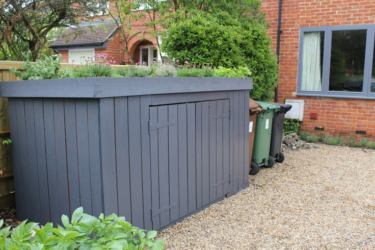 10 weeks ago I planted up a green roof on top of our bike shed. The shed is on…