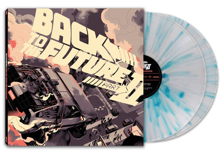 BACK TO THE FUTURE Full Album Artwork – Mondo