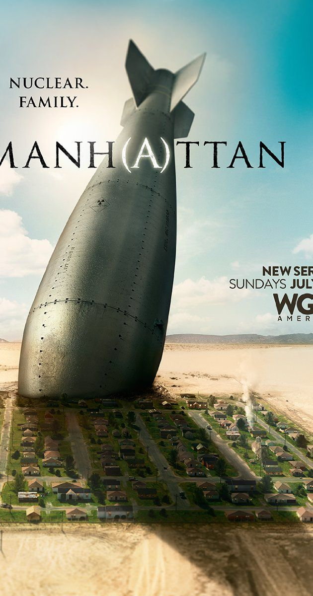 Manhattan (TV Series 2014– ) Set against the backdrop of the greatest clandestine race against time in the history of science with the mission to build the world's first atomic bomb in Los Alamos, New Mexico. Flawed scientists and their families attempt to co-exist in a world where secrets and lies infiltrate every aspect of their lives. Repinned by UylessBlackBooks.com