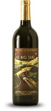 The Big Take, Misconduct Wine Co., Naramata. Chocolate...bacon. Yes. - #bcwine #bc #okanagan #wine #naramata