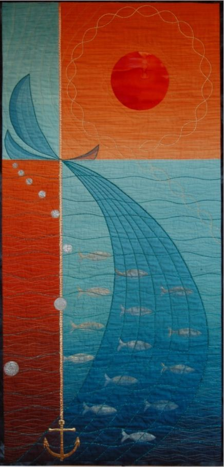 How do you like this quilted wall hanging Pat Archibald