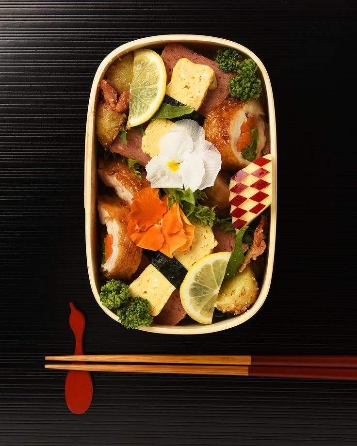 鶏ロール&ポテト弁当 / Rolled Chicken & Potatoes Bento #edit_jp