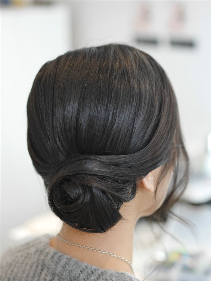 Clean up style for brides that want an elegant look. Hair by Zoe Zhu www.zoezhu.com.au