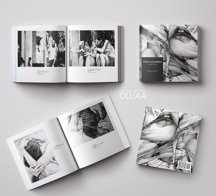 Drawings Album, Graphite Tales: Fine art Album by Oana Unciuleanu