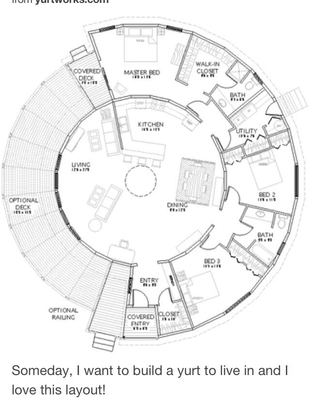 Round House Plans on tiny house interior design