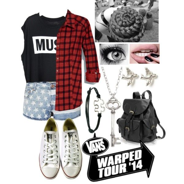 Warped tour outfits panda loves it. If your going to warped tour.if you dont like the hair styel you can change it
