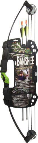 Barnett Outdoors Team Realtree Banshee Quad Junior Compound Bow Archery Set Barnett Crossbows http://smile.amazon.com/dp/B001F0MCLY/ref=cm_sw_r_pi_dp_DcVxub06CEXFJ
