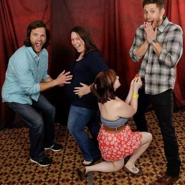 Jared & Jensen with fans