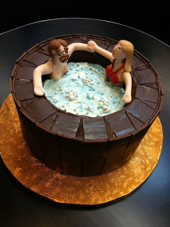Hot Tub Hot Tub Cakes Pinterest Lord Cakes And Hot Tubs