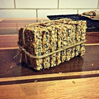 LCHF Crispy Almond Seed Crackers