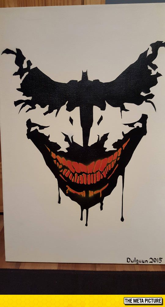 Batman Painting