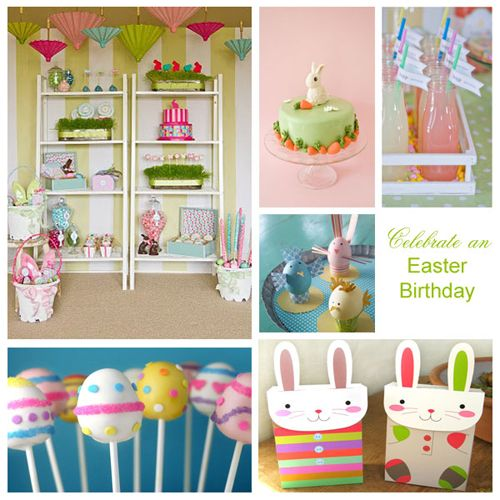 1000+ Images About Easter Birthday Party On Pinterest