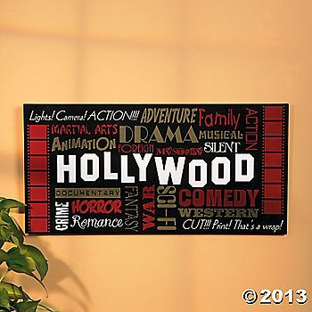 64 best Movie themed wedding decorations images on Pinterest   Movie ...