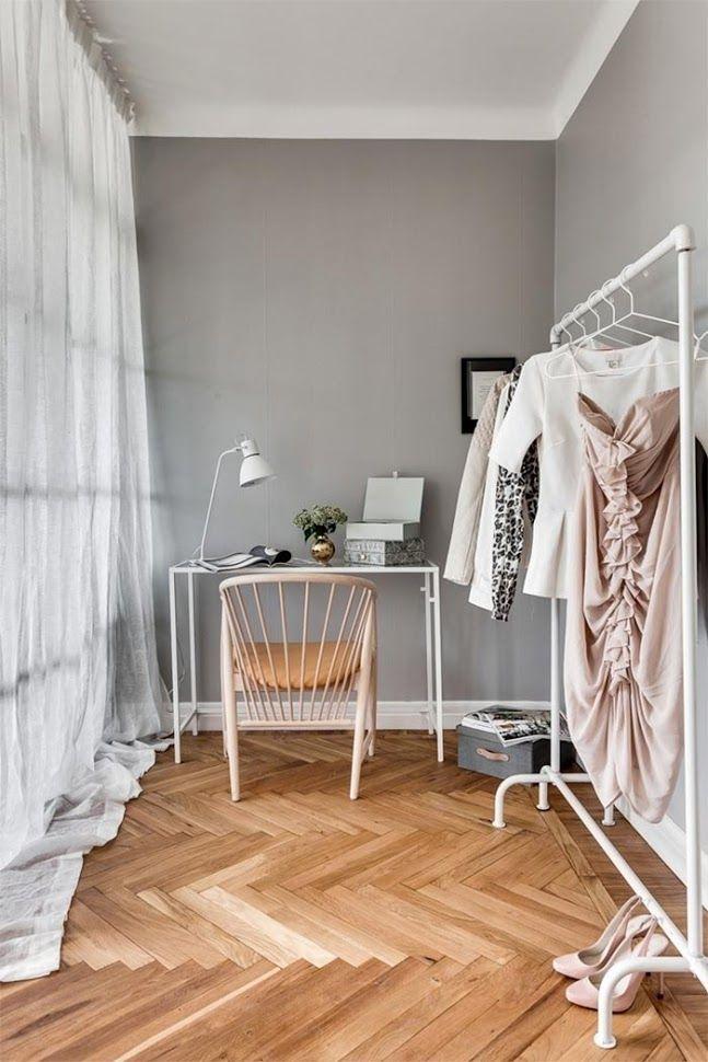 69 m2 muy bien distribuidos (y un vestidor escondido) · 69sqm in nordic style