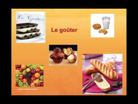 ▶ Les aliments - Le petit-déjeuner - Le goûter - FLE - YouTube