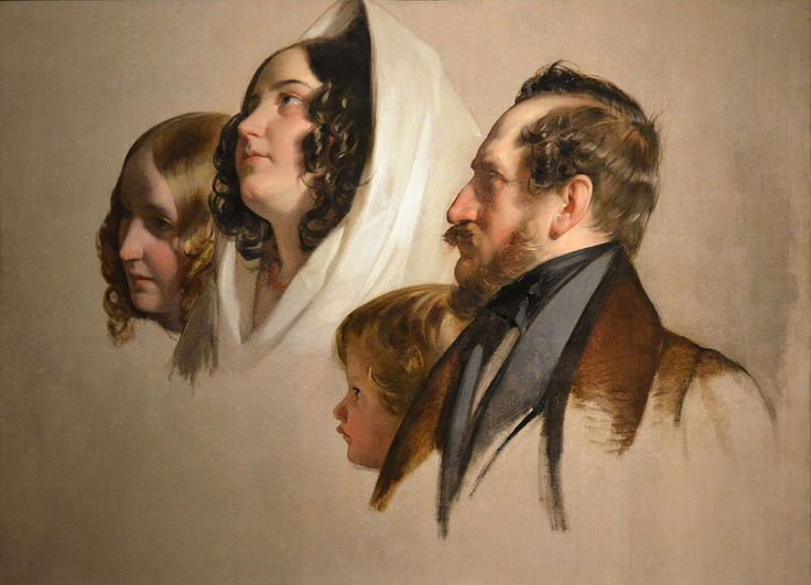 Portrait Study, 1832, Museum of Fine Arts / Budapest. Buy this painting as premium quality canvas art print from Modarty Art Gallery. #art, #canvas, #design, #painting, #print, #poster, #decoration