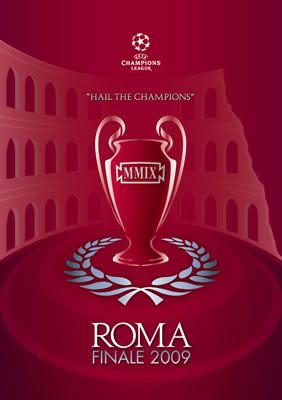 LOGOTIPO FINAL CHAMPIONS LEAGUE ROMA 2009