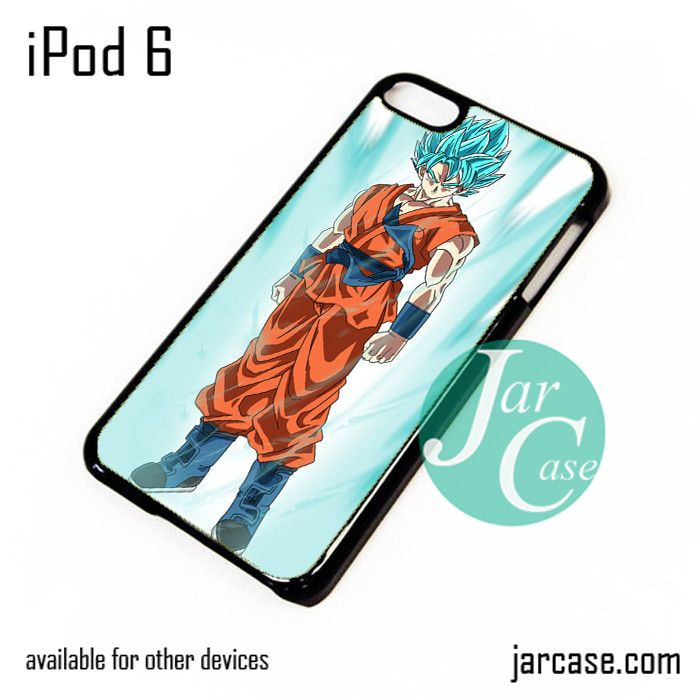 Dragonball Z Son Goku saiyan Blue 5 iPod Case For iPod 5 and iPod 6
