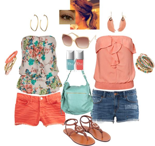"""""""Simple Summer Outfits"""" by emp82 on Polyvore #summer #outfits #womens"""