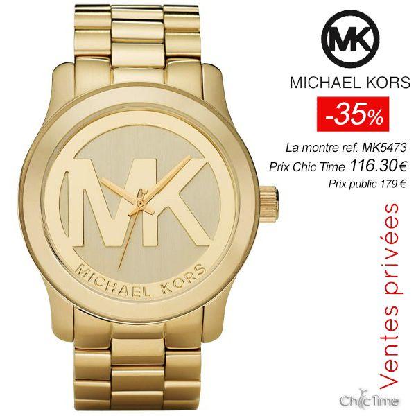 Vite : -35% sur un modèle phare de Michael Kors, la jolie Runway ref. mk5473 est à prix promo avec -35% ! >> http://www.chic-time.com/montres-femme/16273-montre-femme-michael-kors-mk5473-4051432211331.html