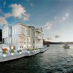 The stunning A'jia hotel in Istanbul.