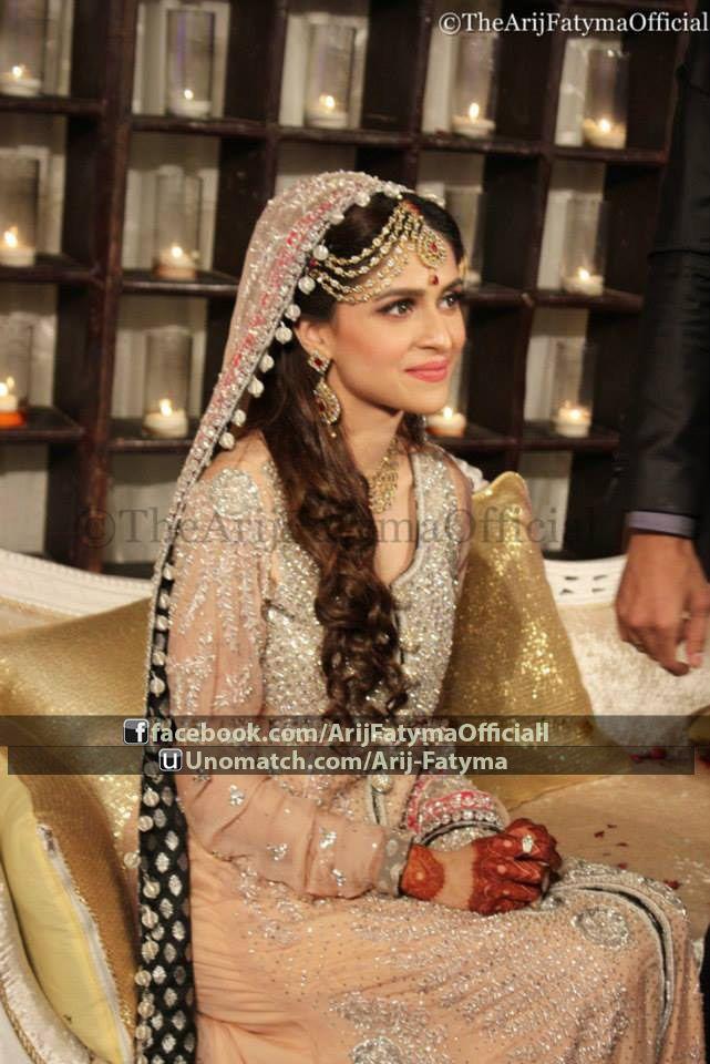 Arij Fatyma fashion model wedding pictures ..