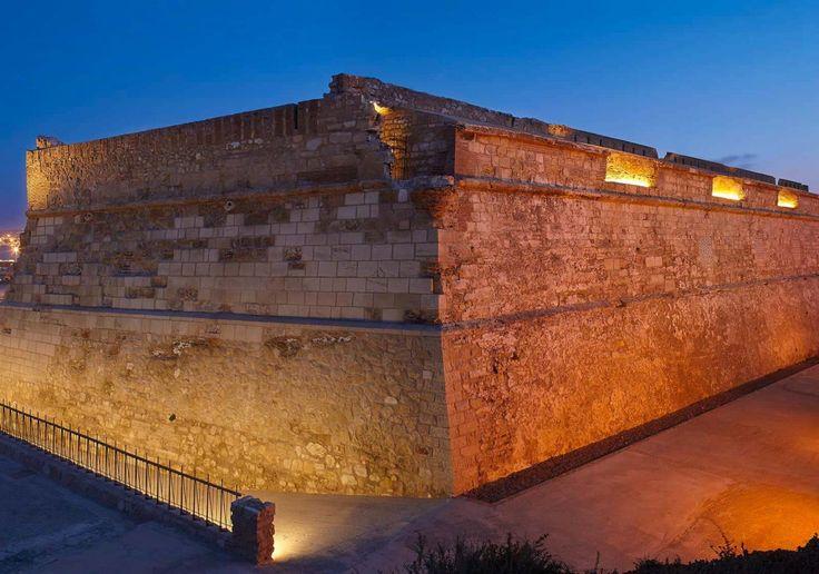 Fuerte Victoria Grande - Melilla Spain #art #light #fortress