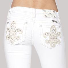 MISS ME WITTE SKINNY JEANS JP5990S2 Miss Me Jeans en Broeken | Fashionboutique Femelle