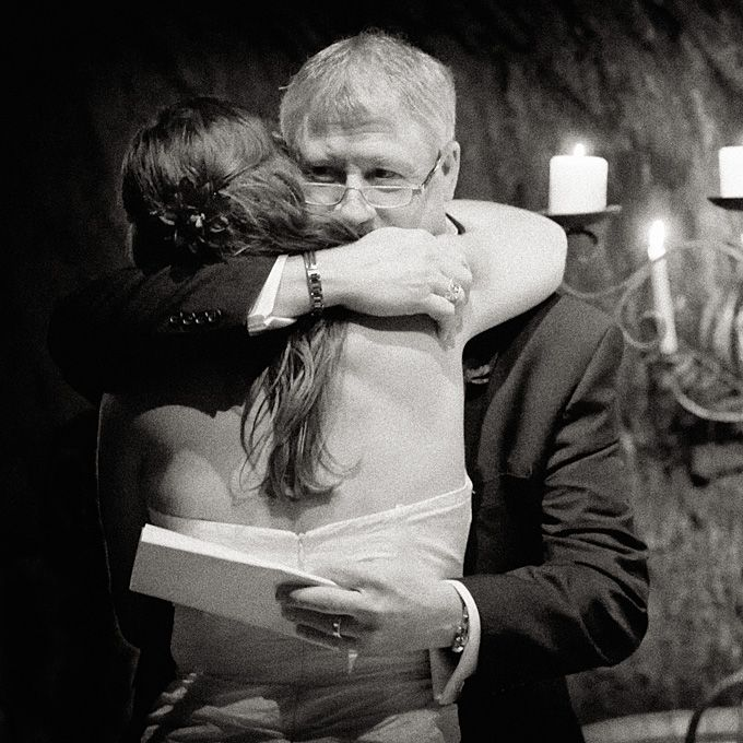 Emotional Father-of-the-Bride Photos