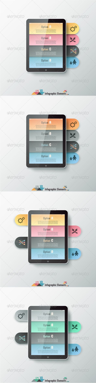 Modern Infographics Options Banner (Four Versions) Tempalte #design Download: http://graphicriver.net/item/modern-infographics-options-banner-four-versions/7291022?ref=ksioks