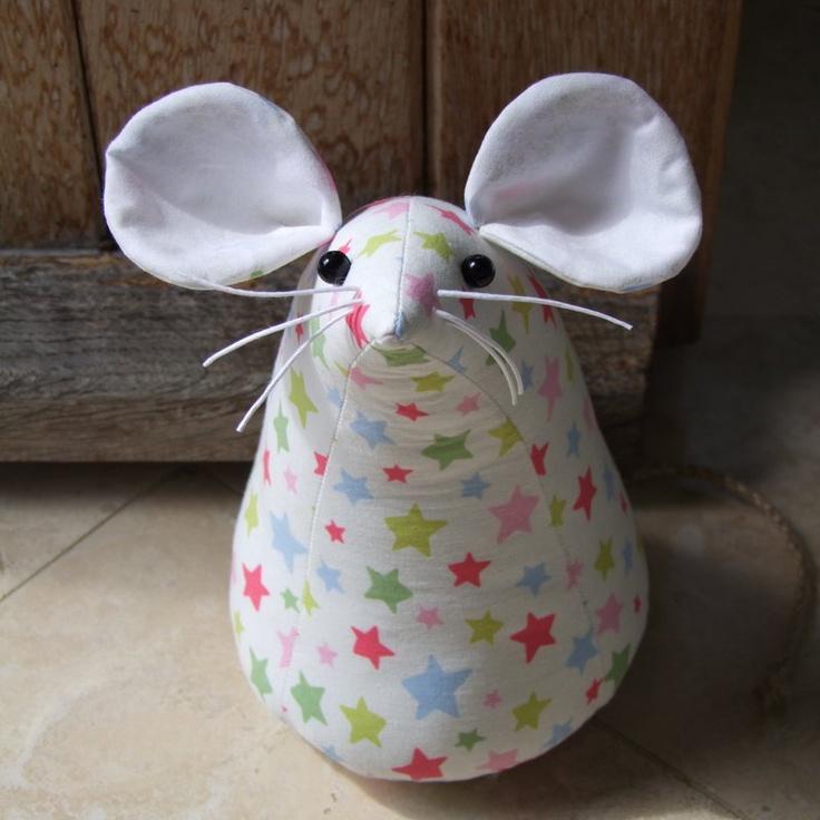 Cute mouse door stop